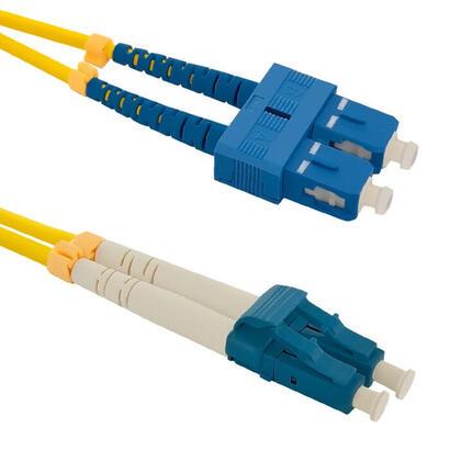 qoltec-54032-cable-de-fibra-optica-2-m-lszh-scupc-lcupc-amarillo