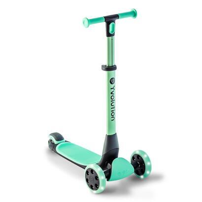 yvolution-y-glider-nua-patinete-kickbike-ninos-verde