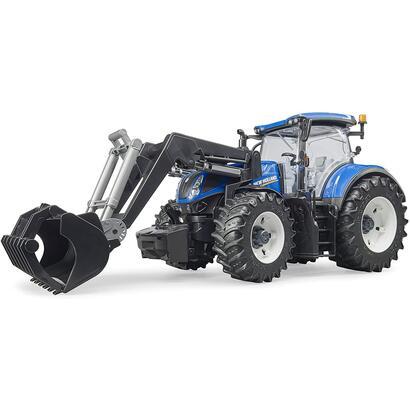 bruder-3121-new-holland-t7315-tractor-de-juguete-azul-gris-con-cargador-frontal