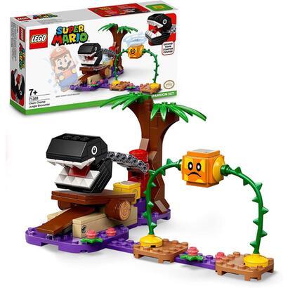 lego-71381-super-mario-set-de-expansion-batalla-en-la-jungla-contra-el-chomp-cadenas