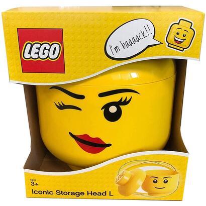 lego-cabeza-almacenaje-l-chica-guinando-un-ojo-40321727-color-amarillo-grande-room-copenhagen