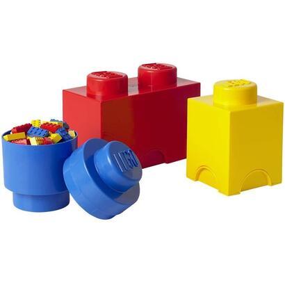 room-copenhagen-lego-storage-multi-pack-multicolor-3-piezas-caja-de-almacenamiento