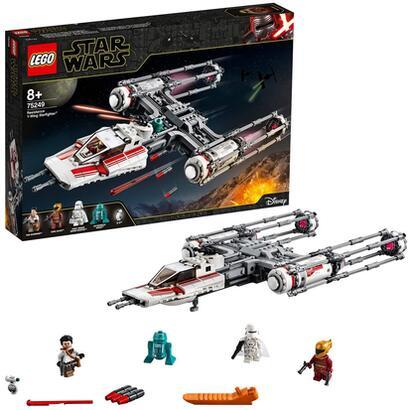 lego-star-wars-caza-estelar-ala-y-de-la-resistencia-75249