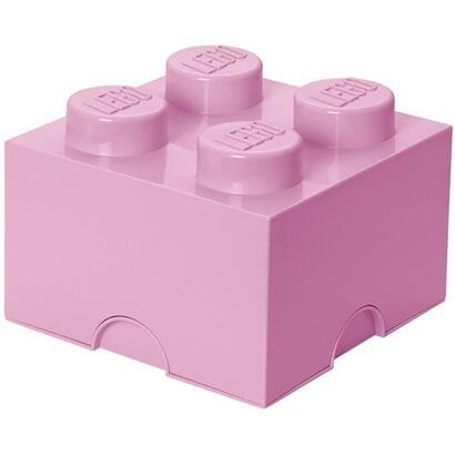 room-copenhagen-40031738-ladrillo-de-almacenamiento-4-espigas-apilable-57l-rosa