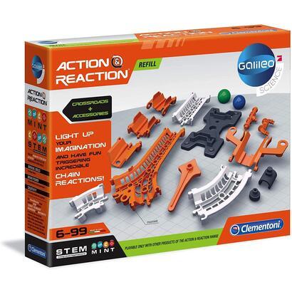 clementoni-galileo-action-reaction-juego-de-habilidad-para-ninos-a-partir-de-6-anos