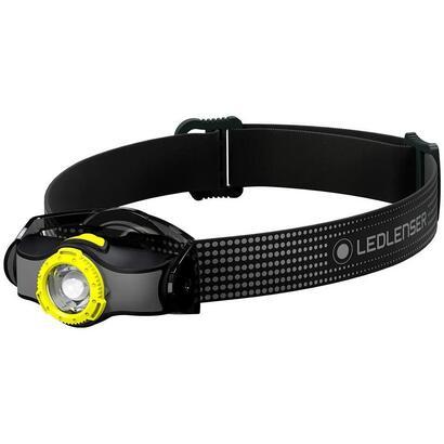 led-lenser-mh3-linterna-frontal-negro-amarillo-200lm