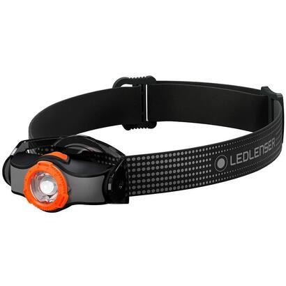 led-lenser-mh3-linterna-frontal-negro-naranja-200lm