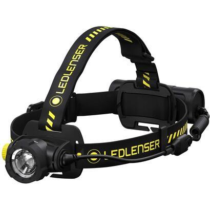 led-lenser-h7r-linterna-frontal-negro-amarillo-1000lm
