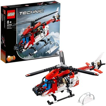 lego-technic-helicoptero-de-rescate-42092
