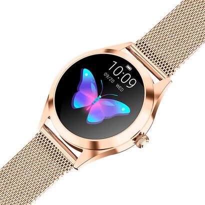 reloj-inteligente-innjoo-voom-gold-pantalla-color-26cm-cuantificador-salud-15-dias-bateria-compat-androidios