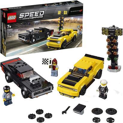 lego-speed-champions-dodge-challenger-srt-demon-de-2018-y-dodge-charger-rt-de-1970-75893