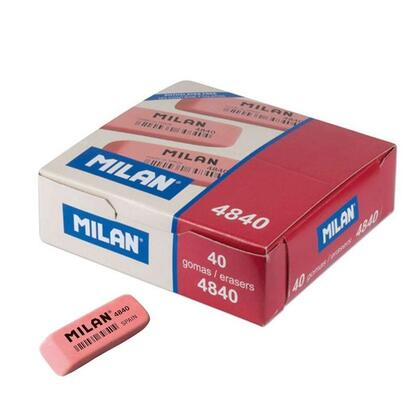 caja-de-40-gomas-de-borrar-miga-de-pan-flexible-para-uso-escolar-milan-4840