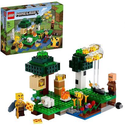 lego-minecraft-21165-la-granja-de-abejas