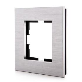 marco-panasonic-novella-1-elemento-aluminio-eloxal-plata-compatible-mecanismo-karre