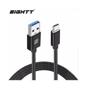 eightt-cable-usb-30-a-type-c-1m-trenzado-nylon-negro