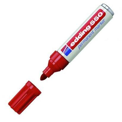rotulador-permanente-punta-redonda-3-4-mm-rojo-edding-550