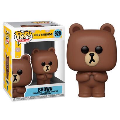 figura-pop-line-friends-brown