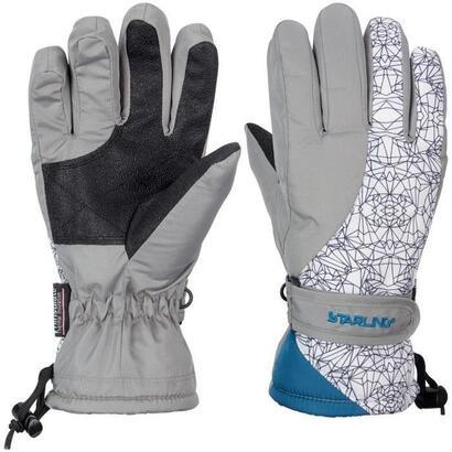 starling-guantes-de-esqui-unisex-para-ninos-gris-y-blanco-talla-5-10-ans