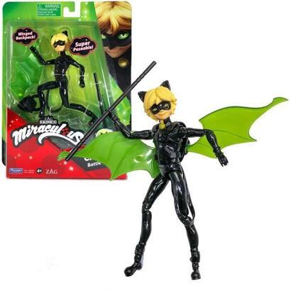 bandai-miraculous-ladybug-mini-muneca-12-cm-cat-noir-y-su-equipo