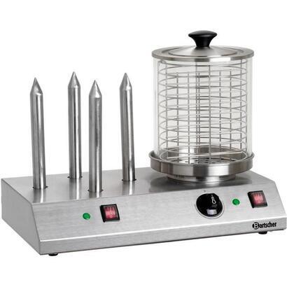 bartscher-baa120408-aparato-de-hot-dog-acero-inoxidable