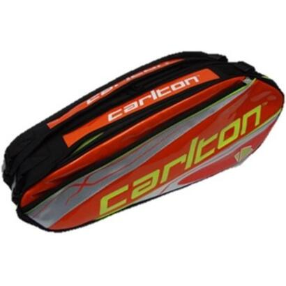 carlton-raqueta-badminton-kinesis-tour-2comp-rkt-bag-org-slv