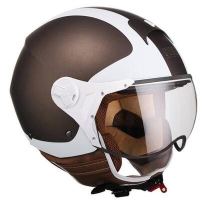 cgm-jet-helmet-107v-positano-hombre-marron-y-blanco-talla-s-55-56-cm