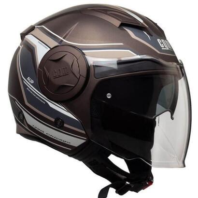 cgm-jet-helmet-129g-chicago-hombre-marron-talla-l-59-60-cm