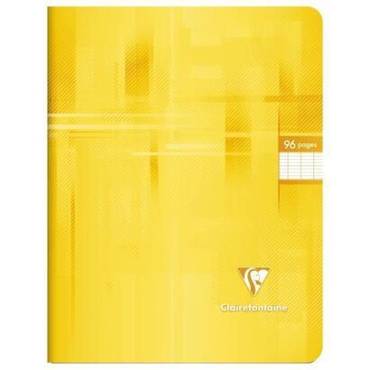 clairefontaine-cuaderno-de-puntadas-17-x-22-96-paginas-seyes-cubierta-recubierta-con-pelicula-color-amarillo