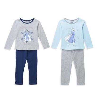 the-queen-of-snow-2-set-de-2-pijamas-be-you-child-girl-talla-10-ans