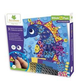 sycomore-stick-n-fun-pompoms-criaturas-marinas