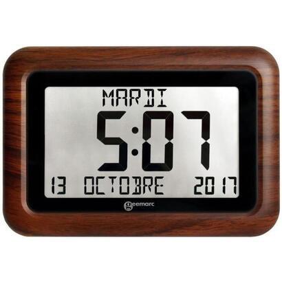 reloj-geemarc-viso-10-controlado-por-radio-con-marco-de-imitacion-madera