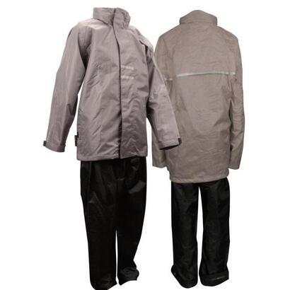 ralka-set-jacket-rain-pants-junior-gris-talla-164-cm