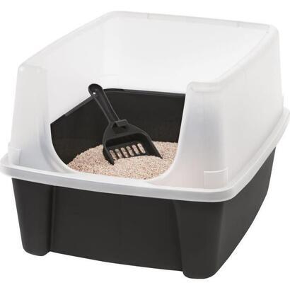 iris-ohyama-caja-de-arena-para-gatos-con-pala-caja-de-arena-para-gatos-gris-38-x-485-x-305-cm