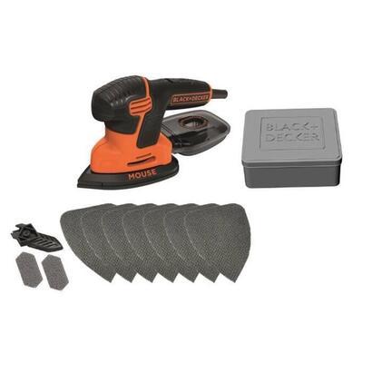 mouse-schleifer-ka2000at-deltaschleifer-orangeschwarz-120-watt-mit-dose-u-10-tlg-schleifzubehor