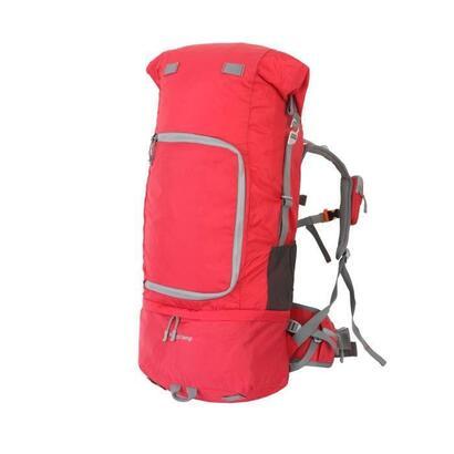 king-camp-andros-65-mochila-de-senderismo-65-litros-nylon-pu-rojo