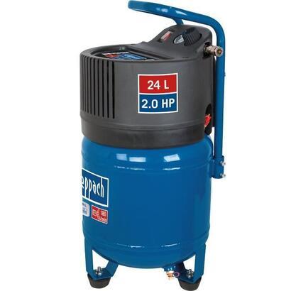 scheppach-compresor-de-aire-vertical-24-l-2hp-10-bar-sin-aceite-hc24v