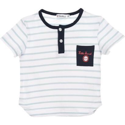 little-marcel-set-2-piezas-camiseta-y-shorts-boy-position-blanco-talla-9-mois