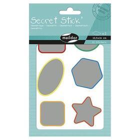 maildor-secret-stick-paquete-de-pegatinas-geometricas-2-hojas-adhesivos-sin-carton