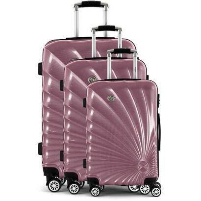 manoukian-juego-de-3-maletas-trolley-rigidas-de-policarbonato-man32-8-ruedas-50-60-70-cm-rosa
