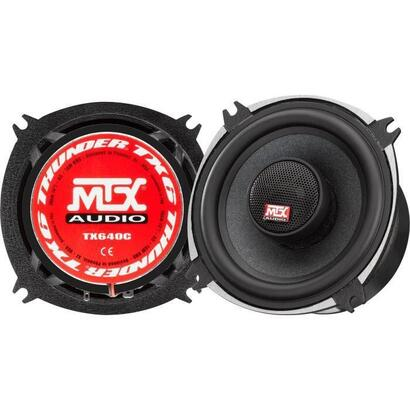 mtx-tx640c-altavoces-coaxiales-10cm-2-vias-70w-rms-4o-chasis-de-aluminio-tweeter-de-neodimio-bobina-domo-de-seda-tsv-til