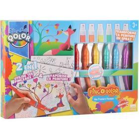 kd-kids-pinc-o-qolor-conjunto-de-pluma-y-pintura-en-aerosol