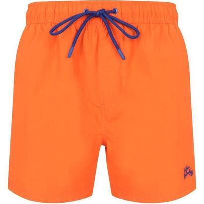 shorts-de-bano-lisos-para-hombre-naranja-sol-naranja-talla-m