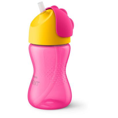 philips-avent-scf798-02-vaso-de-paja-300ml-12-meses-rosa-amarillo