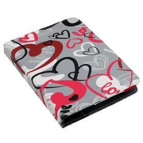 e-vitta-funda-universal-booklet-urban-trendy-crazy-hearts-para-ebook-61-fijacion-moldes-de-plastico-cierre-con-banda