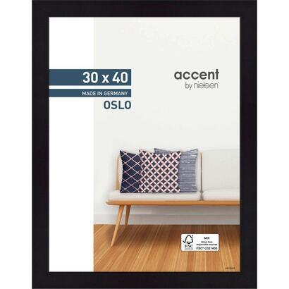 nielsen-accent-oslo-30x40-wooden-frame-black-299302