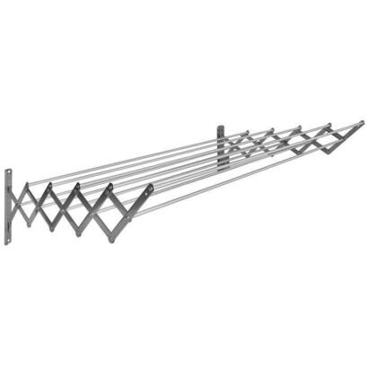 sauvic-secadora-extensible-de-acero-inoxidable-con-10-barras-de-80-cm