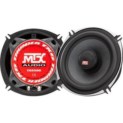 mtx-tx650c-13cm-altavoces-coaxiales-de-2-vias-80w-rms-4o-chasis-de-aluminio-tweeter-de-neodimio-bobina-de-cupula-de-seda-tsv-til