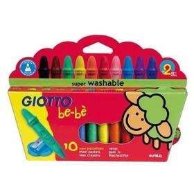 caja-10-super-ceras-irrompibles-sacapuntas-giotto-bebe
