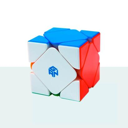 cubo-de-rubik-gan-skewb-magnetico-enhanced-stk-multicolor