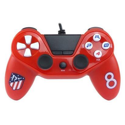 controlador-con-cable-pro4-rojo-atletico-de-madrid-para-ps4-ps3-y-pc